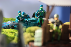 Water Moccasin attack on a G.I. Joe Outpost